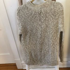 Lucky Brand Cream Sweater
